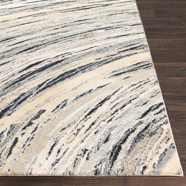 Surya Apricity Modern Area Rug - 5-ft 3-in x 7-ft 6-in- Rectangular - Yellow
