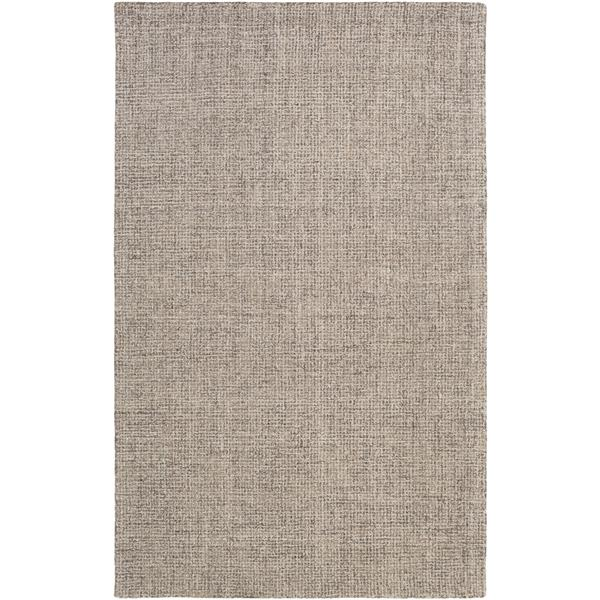 Surya Aiden Texture Area Rug - 8-ft  x 10-ft - Rectangular - Grey