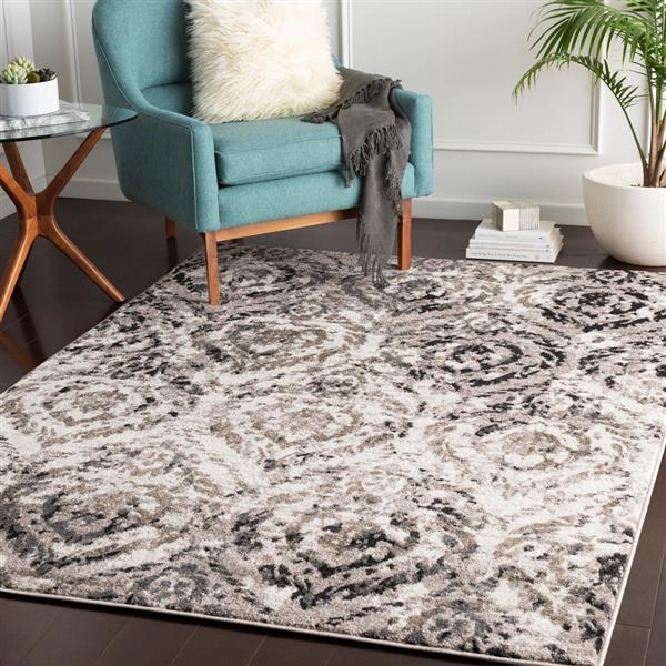 Surya Agra Transitional Area Rug - 5-ft 3-in x 7-ft 3-in- Rectangular - Camel