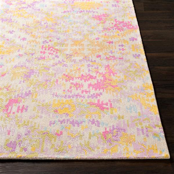 Surya Antigua Bohemian Area Rug - 8-ft  x 10-ft - Rectangular - Pink