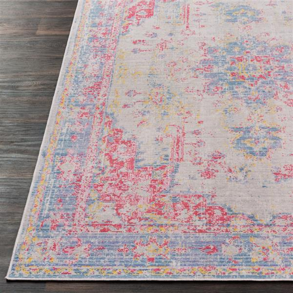 Surya Antioch Updated Traditional Area Rug - 7-ft 10-in x 10-ft 6-in - Rectangular - Violet
