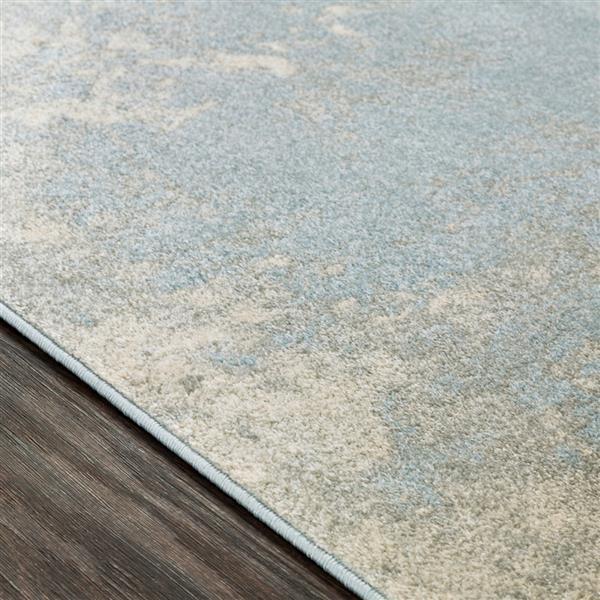Surya Aberdine Modern Area Rug - 5-ft 2-in x 7-ft 6-in - Rectangular -  Pale Blue