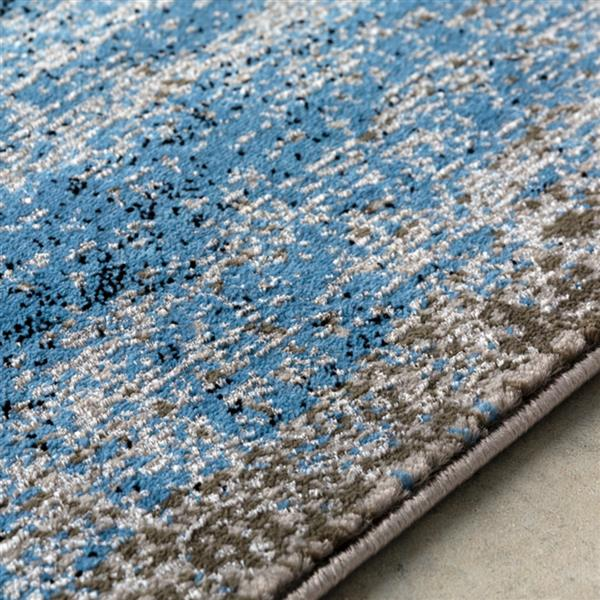 Surya Amadeo Modern Area Rug - 6-ft 7-in x 9-ft 2-in- Rectangular - Blue