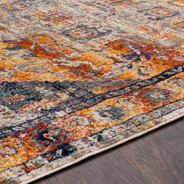Surya Ararat Updated Traditional Area Rug - 7-ft 10-in x 10-ft 3-in - Rectangular - Orange