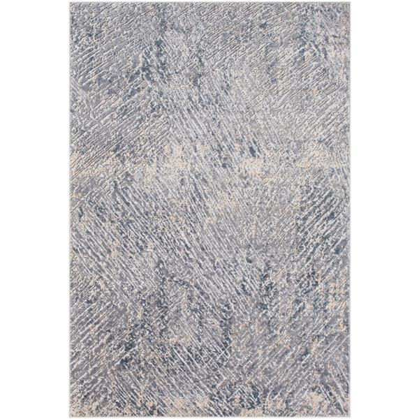 Surya Alpine Modern Area Rug - 5-ft 3-in x 7-ft 3-in- Rectangular - Charcoal