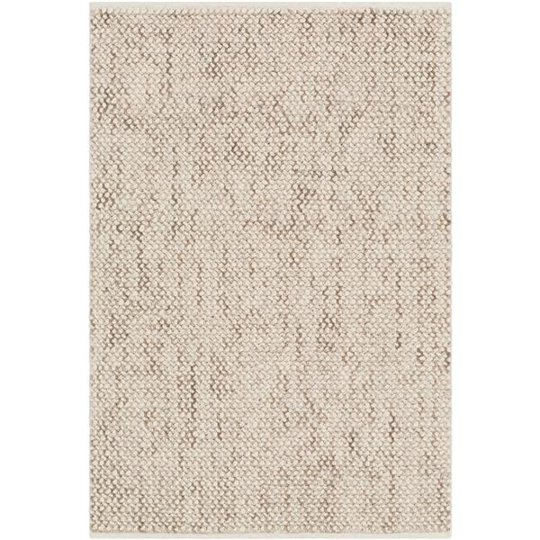 Surya Avera Texture Area Rug - 5-ft x 7.5-ft - Rectangular - Cream