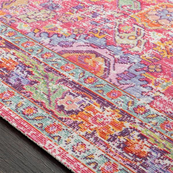 Surya Antioch Updated Traditional Area Rug - 9-ft  x 13-ft  - Rectangular - Pink