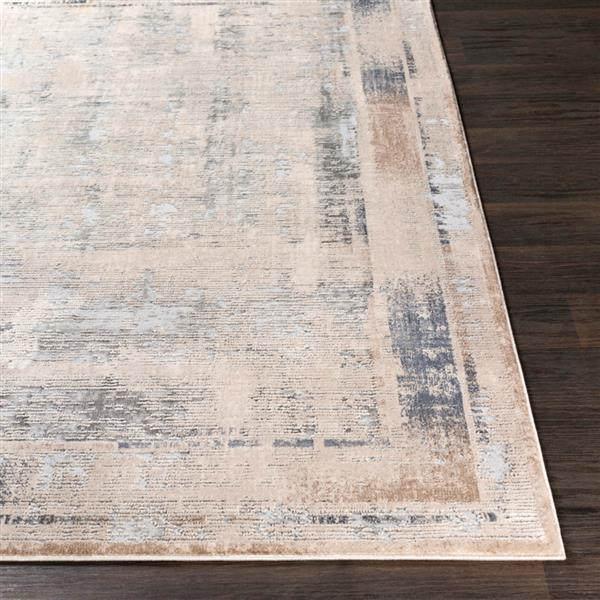 Surya Alpine Updated Traditional Area Rug - 7-ft 10-in x 10-ft 3-in - Rectangular - Ivory