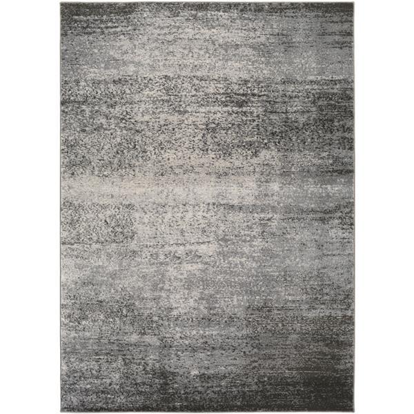Surya Amadeo Modern Area Rug - 7-ft 10-in x 10-ft 2-in- Rectangular - Grey