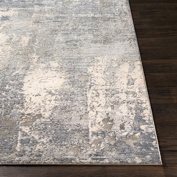 Surya Alpine Modern Area Rug - 9-ft 3-in x 12-ft 3-in- Rectangular - Grey