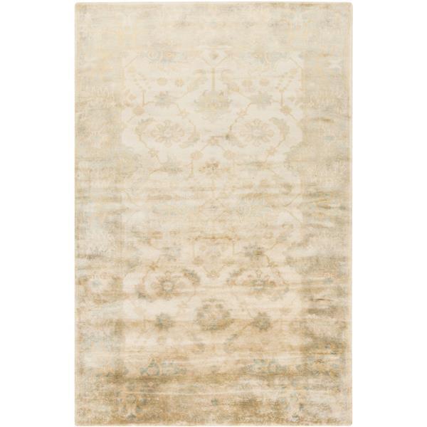 Surya Ainsley Traditional Area Rug - 2-ft x 3-ft - Rectangular - Beige