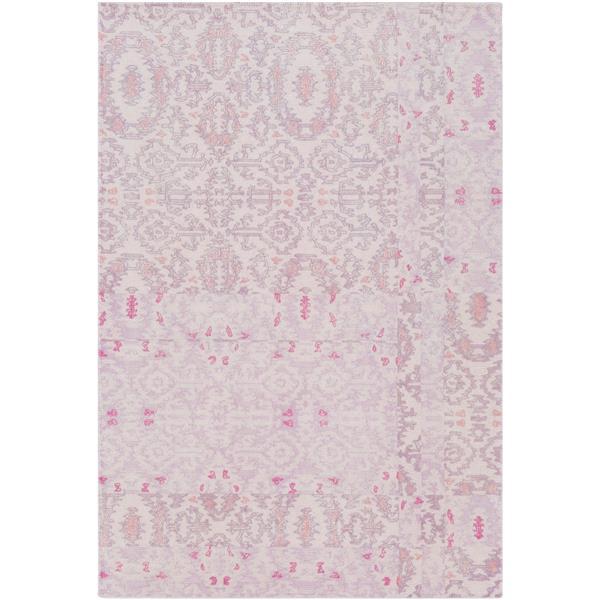 Surya Antigua Bohemian Area Rug - 5-ft  x 7-ft 6-in- Rectangular - Pink