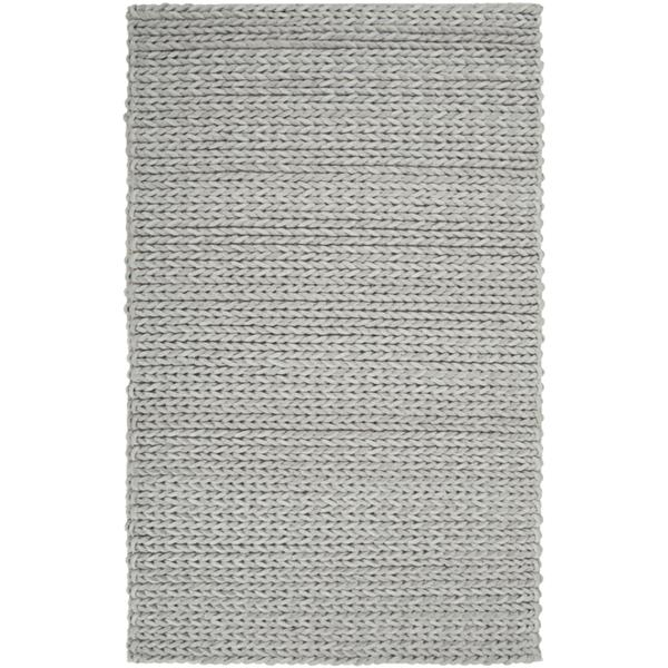 Surya Anchorage Texture Area Rug - 9-ft  x 12-ft - Rectangular - Taupe