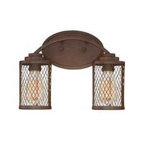 Millenium Lighting Akron 2-Light Vanity Light - Bronze