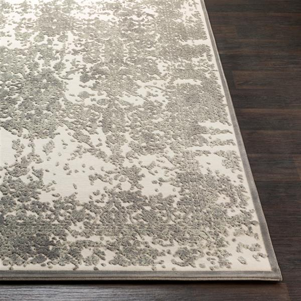Surya Aesop updated traditional area rug - 6-ft 7-in x 9-ft 6-in - Rectangular - Sage