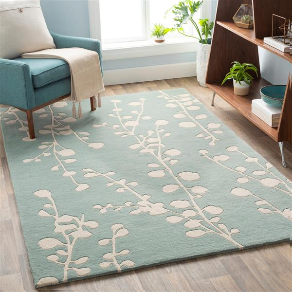Surya Athena transitional area rug - 9-ft x 12-ft - Rectangular - Mint