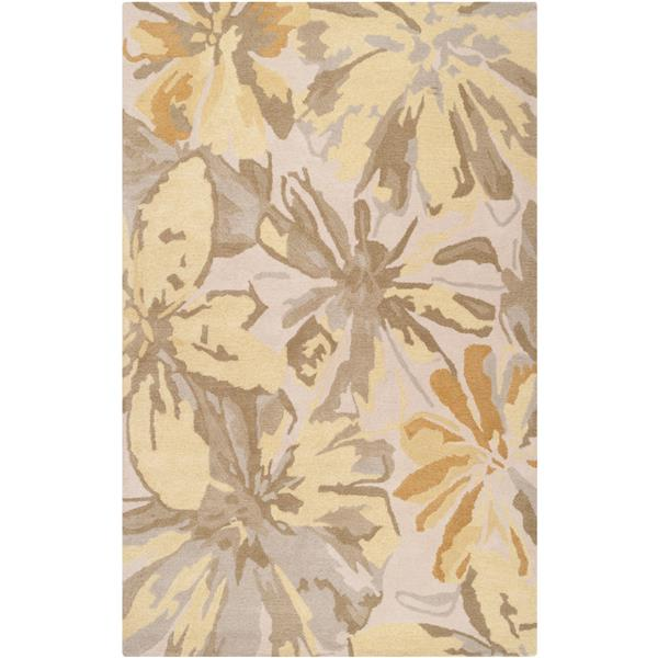 Surya Athena transitional area rug - 4-ft x 6-ft - Rectangular - Butter
