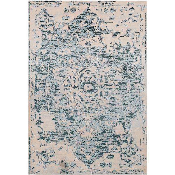 Surya Asia Minor updated traditional area rug - 7-ft 10-in x 10-ft 3-in - Rectangular - Cream