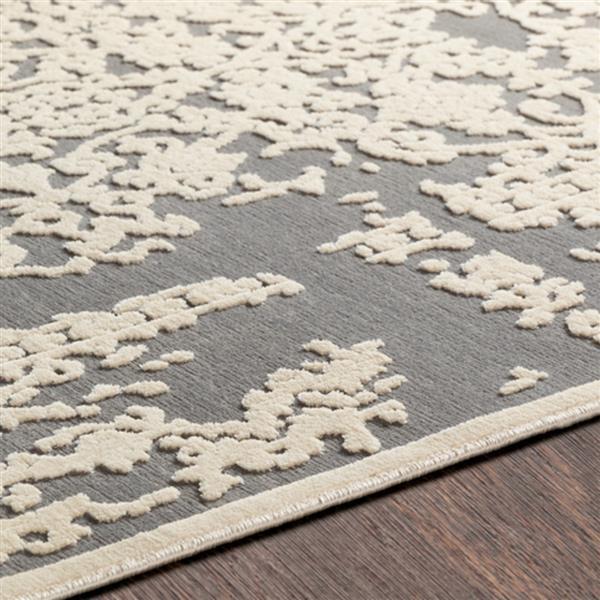 Surya Aesop updated traditional area rug - 7-ft 10-in x 10-ft 4-in - Rectangular - Beige