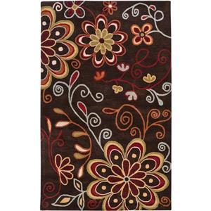 Surya Athena transitional area rug - 12-ft x 15-ft - Rectangular - Dark Brown