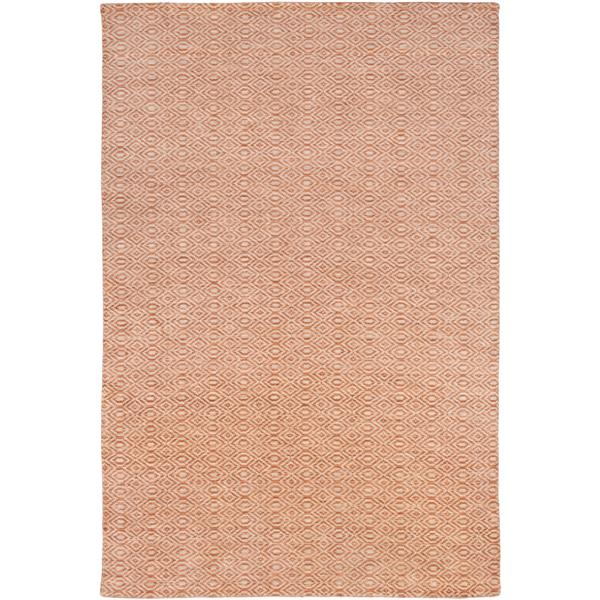 Surya Astara modern area rug - 6-ft x 9-ft - Rectangular - Burnt Orange