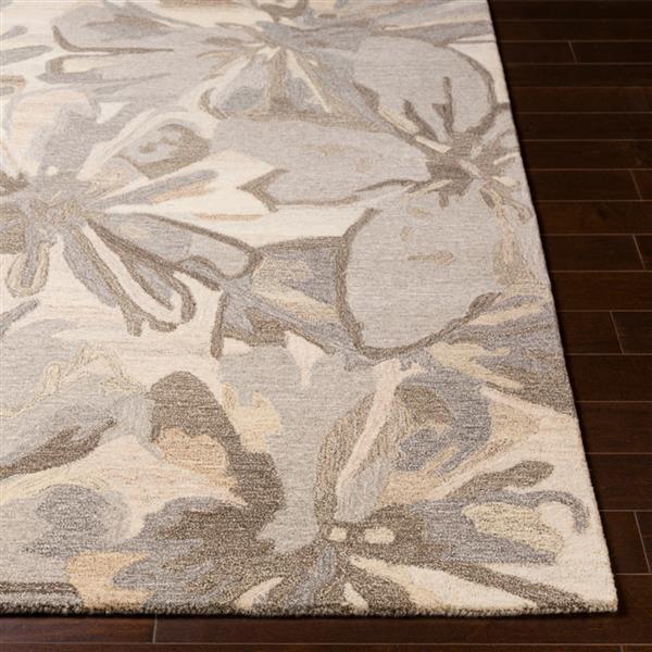 Surya Athena transitional area rug - 9-ft x 12-ft - Rectangular - Beige