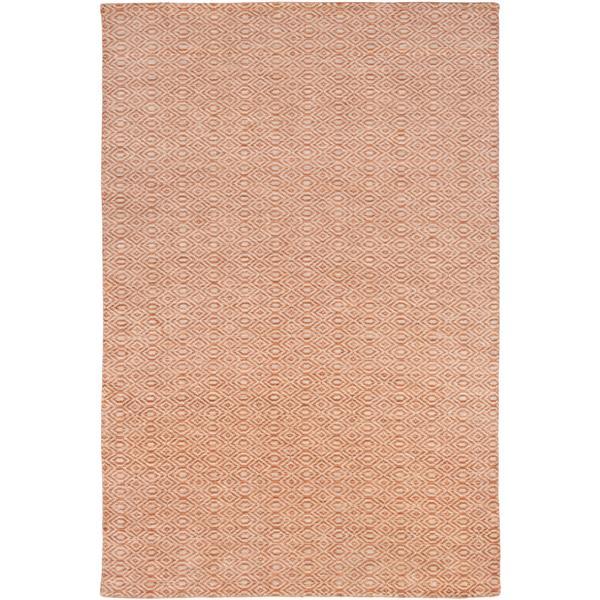 Surya Astara modern area rug - 9-ft x 13-ft - Rectangular - Burnt Orange