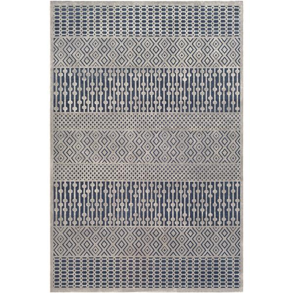 Surya Aesop bohemian area rug - 6-ft 7-in x 9-ft 6-in - Rectangular - Navy