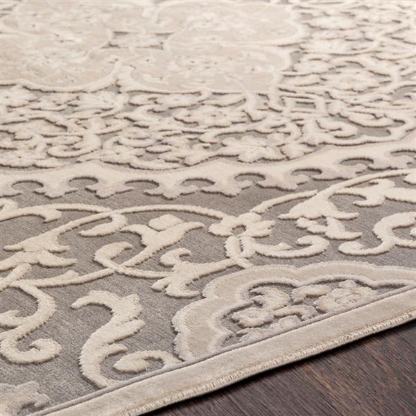 Surya Aesop transitional area rug - 5-ft 2-in x 7-ft 3-in - Rectangular - Beige