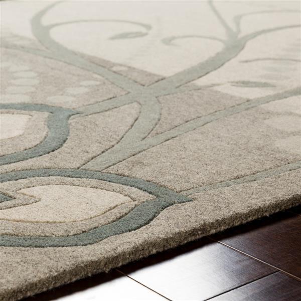 Surya Athena transitional area rug - 7-ft 6-in x 9-ft 6-in - Rectangular - Sage