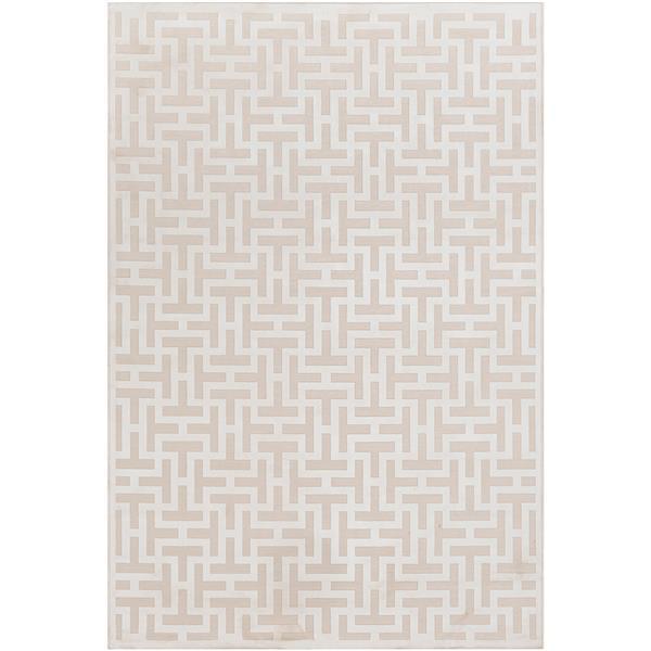 Surya Aesop modern area rug - 6-ft 7-in x 9-ft 6-in - Rectangular - Beige