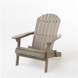 Best Selling Home Decor Berkshire Adirondack Chair - Grey Wood