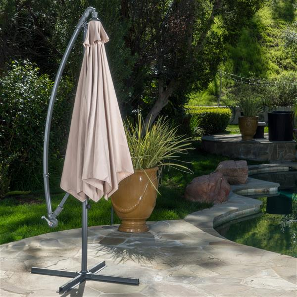 Best Selling Home Decor Hilary Patio Umbrella - Beige