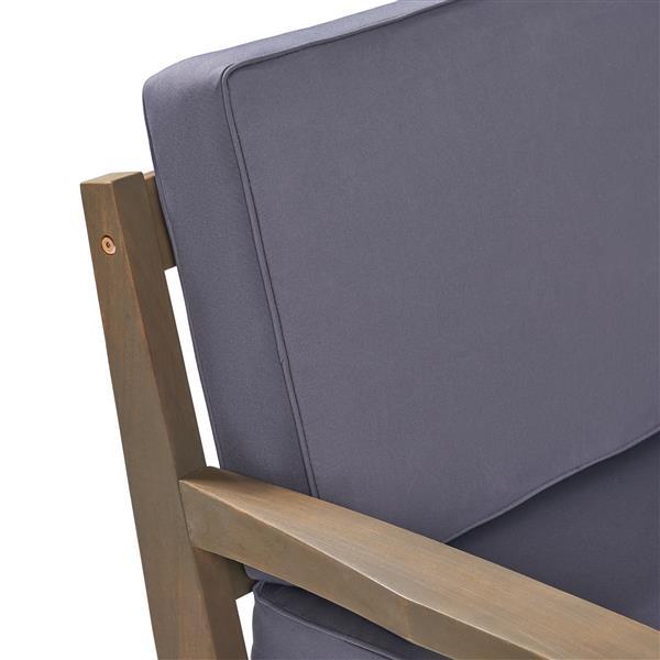 Best Selling Home Decor Rosetta Patio Set - Grey - Set of 4