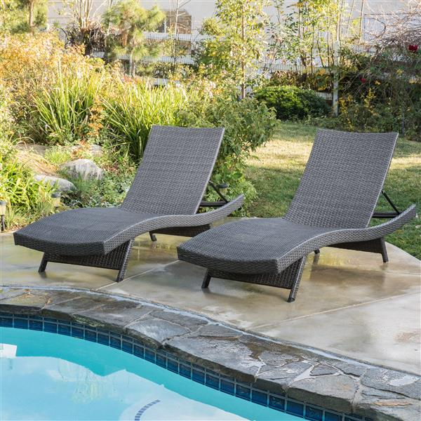 Best Ing Home Decor Loma Outdoor, Pool Chaise Lounge Chairs Canada