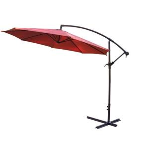 Oakland Living Cantilever 10-ft Umbrella - Orange