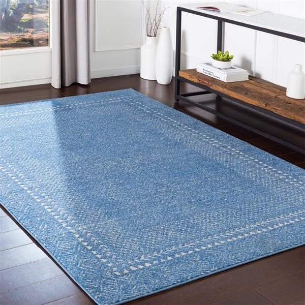Surya Bahar Transitional Area Rug - 5-ft 3-in x 7-ft 3-in - Rectangular - Blue