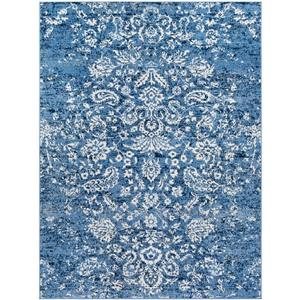 Surya Bahar Updated Traditional Area Rug - 7-ft 10-in x 10-ft 3-in - Rectangular - Blue