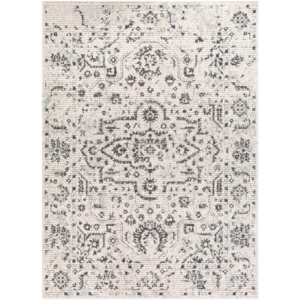 Surya Bahar Updated Traditional Area Rug - 5-ft 3-in x 7-ft 3-in - Rectangular - Beige