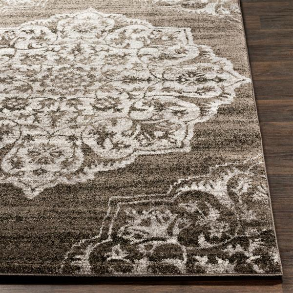 Surya Baylee Transitional Area Rug - 7-ft 10-in x 10-ft 10-in - Rectangular - Taupe