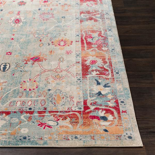 Surya Bohemian Updated Traditional Area Rug - 7-ft 10-in x 10 ft 3-in - Rectangular - Multi