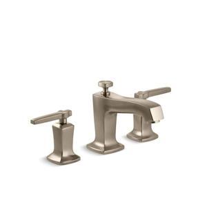 Robinet de lavabo de salle de bain déployé Margaux de KOHLER, bronze