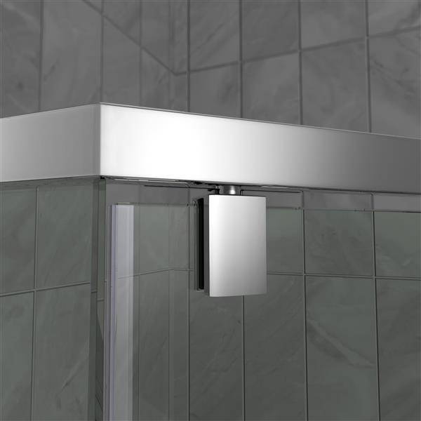 "Ensmeble de douche DreamLine Prism, 42"", chrome"