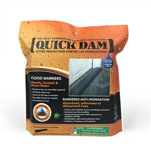 Quick Dam 10' Flood Barrier - 1/Pack