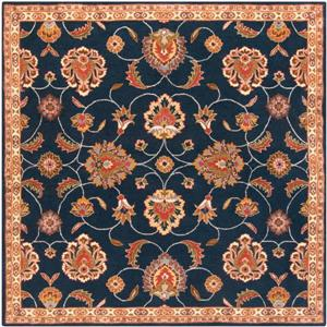 Surya Caesar Traditional Area Rug - 6-ft - Square - Navy