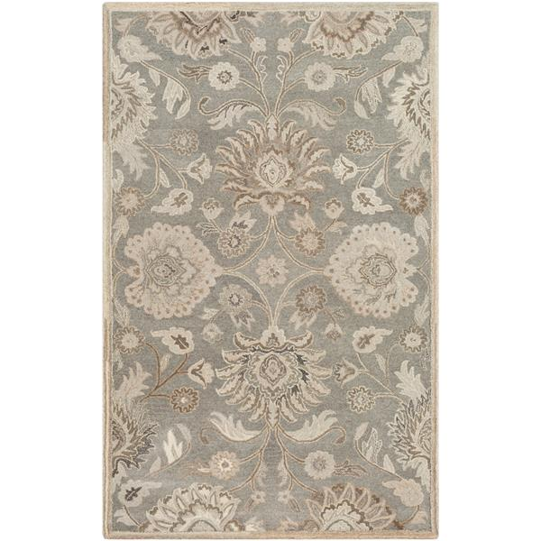 Surya Caesar Traditional Area Rug - 7-ft 6-in x 9-ft 6-in - Rectangular - Taupe