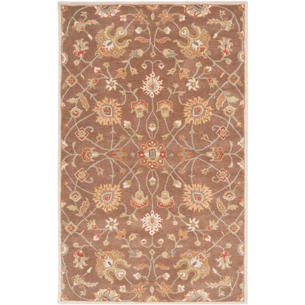 Surya Caesar Traditional Area Rug - 8-ft x 11-ft - Rectangular - Brown