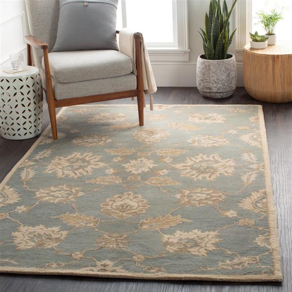 Surya Caesar Traditional Area Rug - 8-ft x 11-ft - Rectangular - Olive