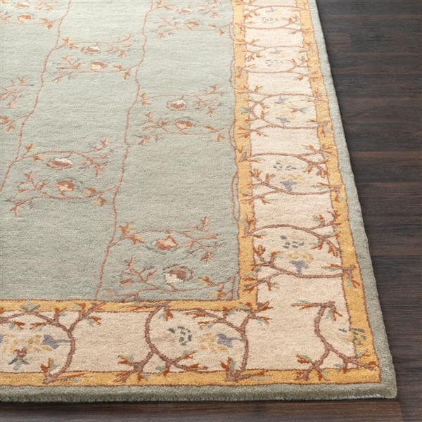 Surya Caesar Traditional Area Rug - 9-ft x 12-ft - Rectangular - Sage