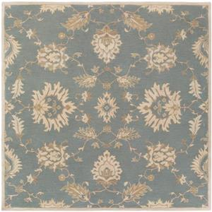 Surya Caesar Traditional Area Rug - 8-ft - Square - Olive